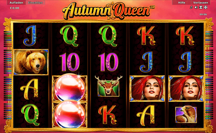 autumn queen novoline